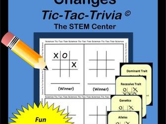 Genetics Tic Tac Trivia Board Game
