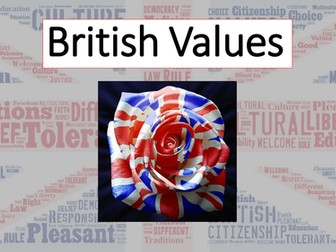 Promoting SMSC - British Values - informative assembly and guidance on running a British Values Day