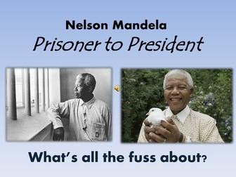 KS2 Nelson Mandela Black History Month