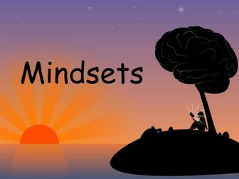 Growth and fixed mindset presentation - pupils learn all about the differences of mindsets