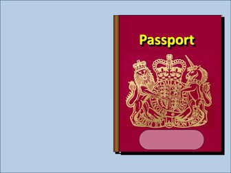 All About Me Passport