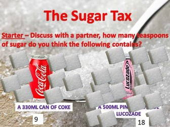 Sugar Tax - Writing to Argue and Persuade - Letter