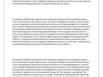 Perfect mark PEE paragraph