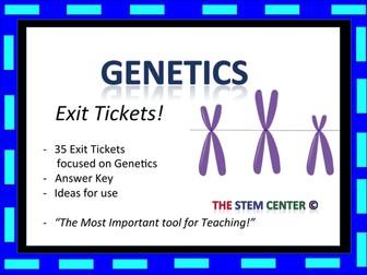 Genetics Exit Tickets