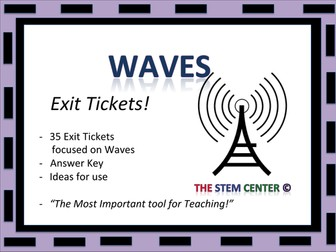 Waves Exit Tickets