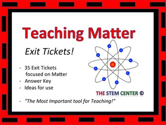 Matter Exit Cards