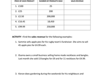 Accounting/Finance Booklet - Financial Statements and Ratio Analysis