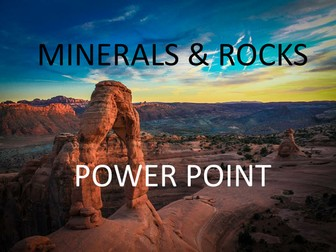 Rocks and Minerals Power Point