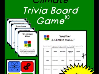 Weather and Climate BINGO!