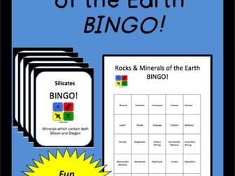 Minerals: BINGO!