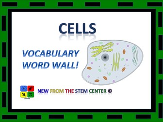 Cells: Word Wall
