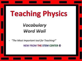 Physics: Word Wall