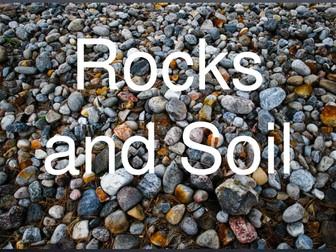 Rocks, minerals, soil, rock cycle, weathering, erosion, types of rocks KS2 KS3 science
