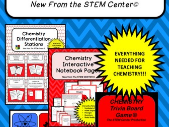 Chemistry: BIG UNIT BUNDLE!