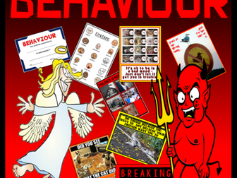 BEHAVIOUR TEACHING RESOURCES ACTIVITIES DISPLAY KEY STAGE 2-4 SEN EMOTIONS