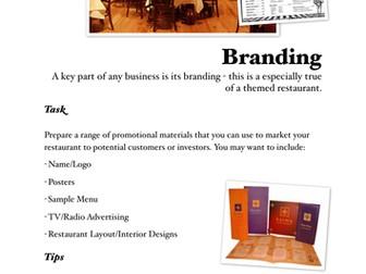 Enterprise Project - Restaurant Branding, Location and Theme