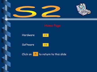 S2 Computing 56 slide Powerpoint on Hardware and Software
