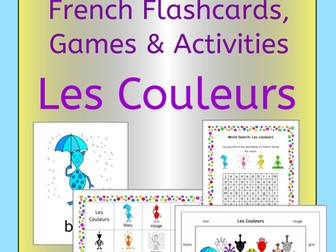 French Colors - Les Couleurs