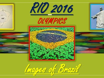 Rio Olympics. Images of Brazil.