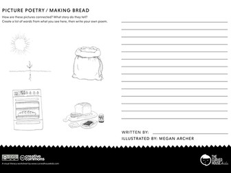 Picture Poetry: Making Bread