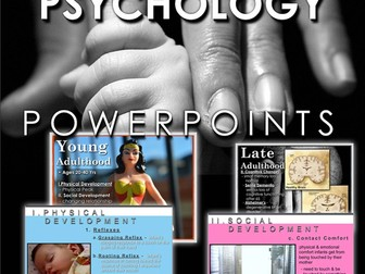 Developmental Psychology PowerPoints with Video Clips