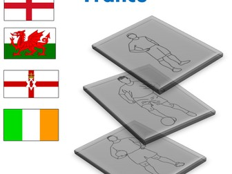 EURO 2016 FOOTBALL. Show Your Support Colouring Activity