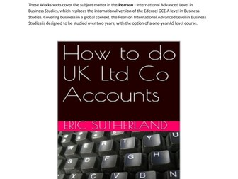 Balance Sheet Note 6 P&L account Examples and Exercises
