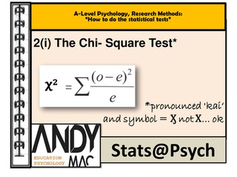 A Level And Ib Psychology Stats Psych Series Statistical Tests