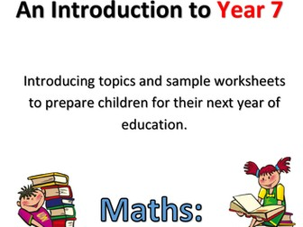 Transition into Year 7 - Maths - Number