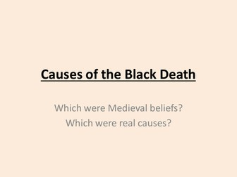 Black Death - causes and treatments