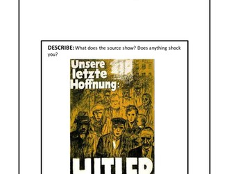 The Second World War: Hitler's Rise to Power.