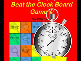 Geography: Beat the Clock Game