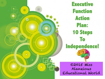 Classroom Management: Executive Function Action Plan Training