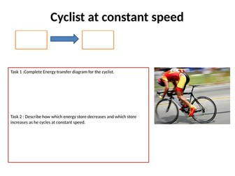 Energy stores and transfer GCSE 9-1