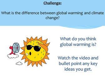 Climate Change Introduction