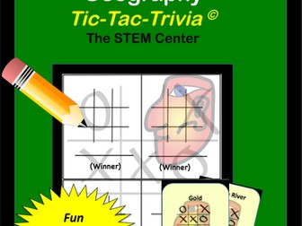 Latin America - Geography Tic-Tac-Trivia Game!