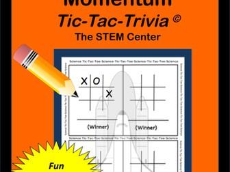 Physics: Tic-Tac-Trivia Board Game