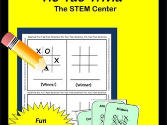 Matter: Tic-Tac-Trivia Board Game