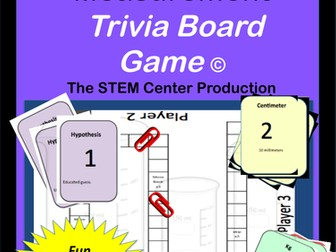 Metric System: Trivia Board Game