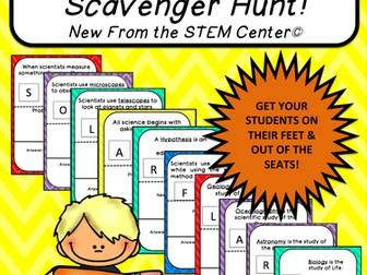 Multiplication Tables (1's): Scavenger Hunt