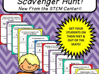 Multiplication Tables (2's): Scavenger Hunt