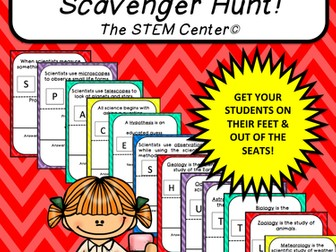 Multiplication Tables (6's): Scavenger Hunt
