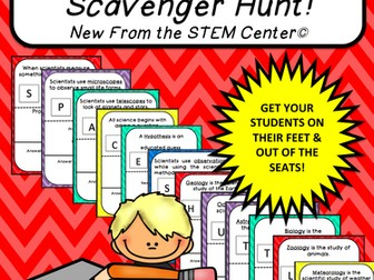 Multiplication Tables (7's): Scavenger Hunt