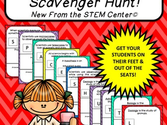 Multiplication Tables (9's): Scavenger Hunt