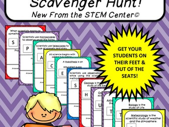 Multiplication Tables (11's): Scavenger Hunt