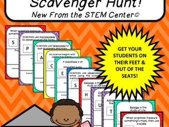 Multiplication Tables (12's): Scavenger Hunt