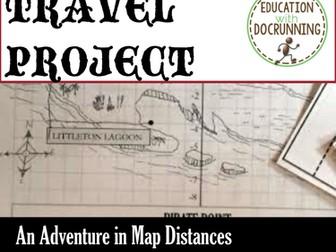 Cartesian Coordinates: Map Distances and Coordinates Mini-Project