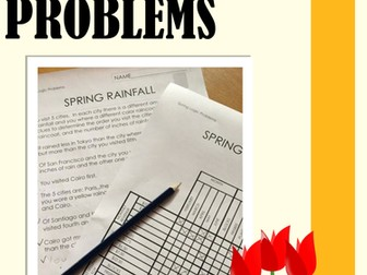 Logic Puzzles: Logic Puzzles for Spring