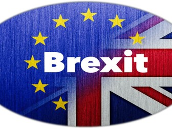 Brexit. EU Map colouring activity.