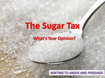 Sugar Tax - Letter Writing Lesson